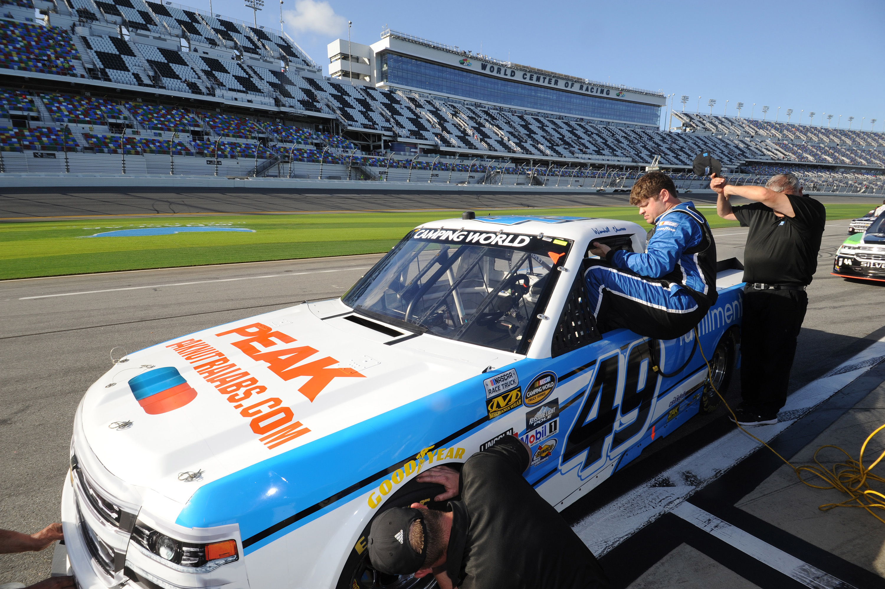 Peak Nutritional Products at the 2017 Daytona Camping World Truck Series Race