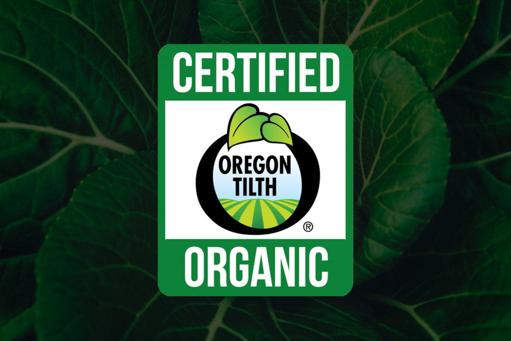 Oregon Tilth Certified Organic badge